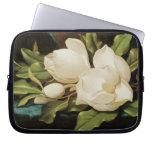 Magnolias gigantes, Heade, flores del Victorian Fundas Computadoras