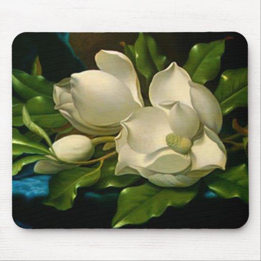 Magnolias gigantes tapetes de raton