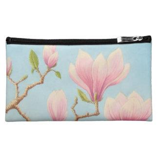 Magnolias in Bloom, Wisley Gardens in Pastel Makeup Bag