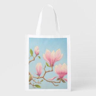 Magnolias in Bloom Wisley Gardens Reusable Bag