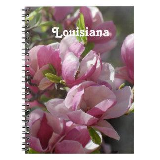 Magnolias Libro De Apuntes Con Espiral