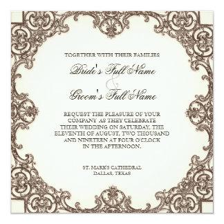Magnolias n Bird of Paradise - Wedding Invitation