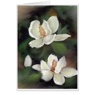 MAGNOLIAS OF THE SOUTH GREETING CARD