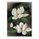 MAGNOLIAS OF THE SOUTH STATIONERY NOTE CARD