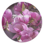 Magnolias Party Plate