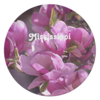 Magnolias Plate