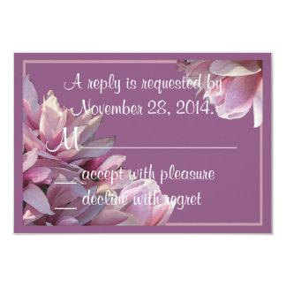 Magnolias RSVP Cards Announcements