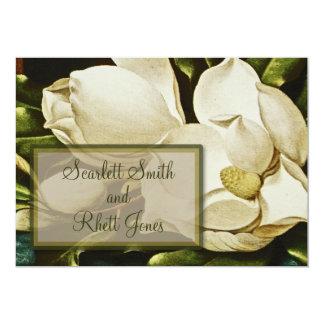 Magnolias Wedding Invitation
