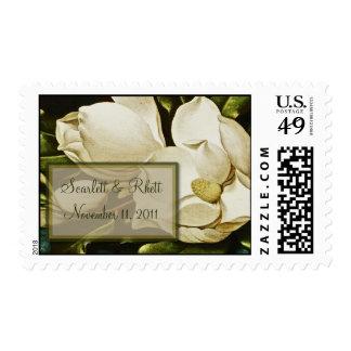 Magnolias Wedding Medium Postage
