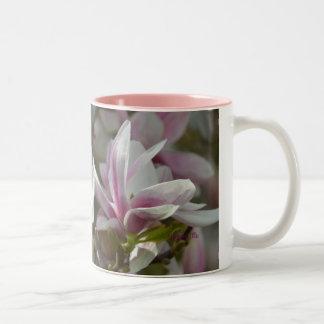 """""""Magnolien"""" by mysteryella Two-Tone Coffee Mug"""