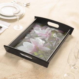 """""""magnolios - flores"""" by mysteryella bandeja"""