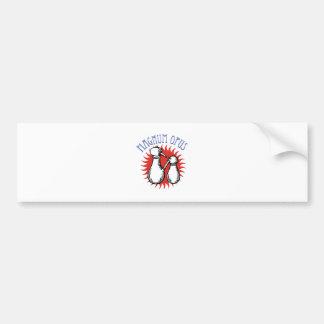 Magnum Opus Bumper Sticker