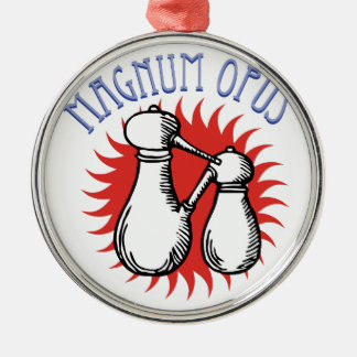 Magnum Opus Metal Ornament