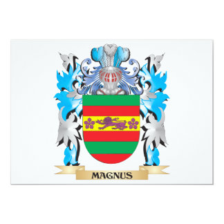 Magnus Coat of Arms - Family Crest Card