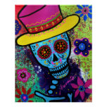 MAGO DAY OF THE DEAD POSTER BY PRISARTS