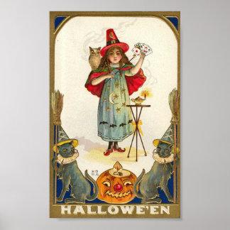 Mago de Halloween Impresiones