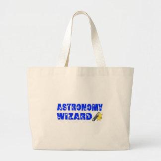 Mago de la astronomía bolsa de mano