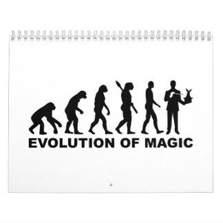 Mago de la evolución calendario