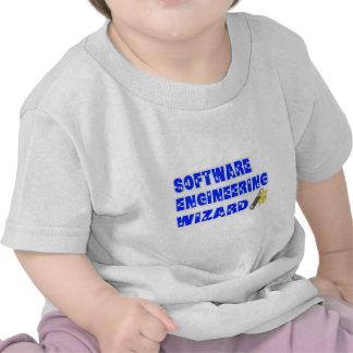 Mago de la ingeniería de programas informáticos camiseta