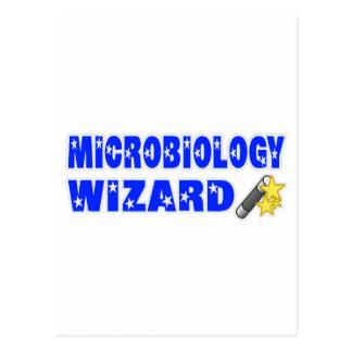 Mago de la microbiología postales