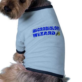 Mago de la microbiología camisa de perrito