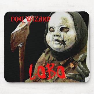 Mago de la niebla - cojín de ratón del LOBO Alfombrilla De Ratón