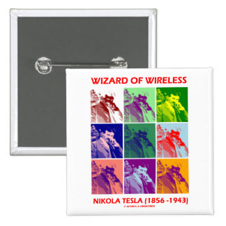Mago de la radio Nikola Tesla nueve imágenes Pin