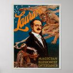Mago de Laurant, ilusionista, magia del actor Poster