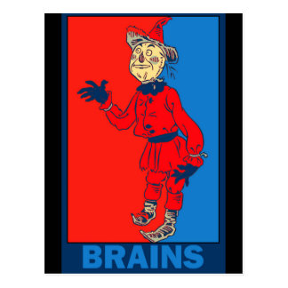 Mago de Oz de Denslow: Cerebros Postal