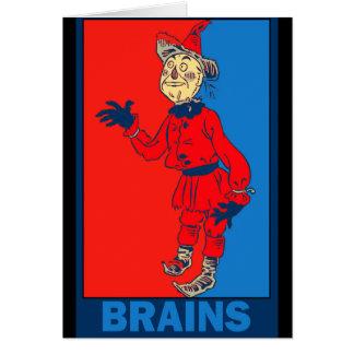 Mago de Oz de Denslow: Cerebros Tarjeta De Felicitación