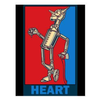 Mago de Oz de Denslow: Corazón Tarjetas Postales