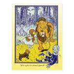 Mago de Oz: Dorothy resuelve el león cobarde Postal