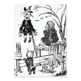 Mago de Oz Dorothy Toto y el espantapájaros Comunicados