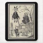 Mago de Oz Dorothy y el espantapájaros Tapetes De Ratones