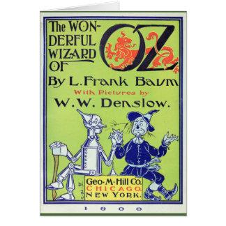 Mago de Oz maravilloso Tarjeta De Felicitación