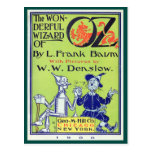 Mago de Oz maravilloso Tarjeta Postal