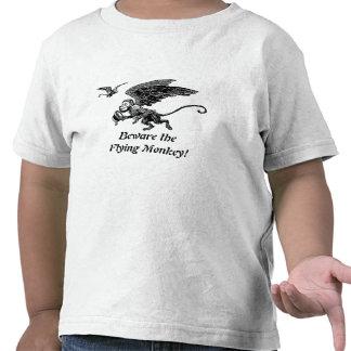 ¡Mago de Oz para los niños! ¡Guárdese del mono del Camiseta