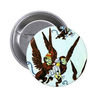 Mago de Oz se fue volando los monos que volaban mo Pin Redondo 5 Cm