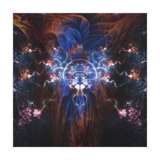 Mago del fractal en la lona envuelta 16x16 lona envuelta para galerias