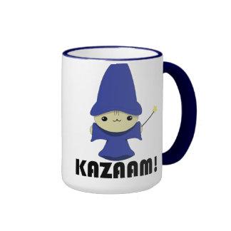 Mago del gatito de Kawaii Taza A Dos Colores