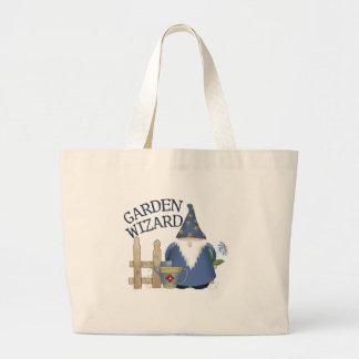 Mago del jardín bolsas lienzo