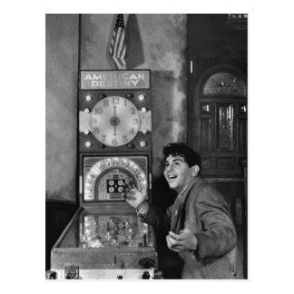 Mago del pinball: los años 40 postal