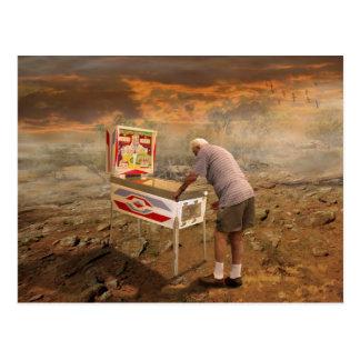 Mago del pinball tarjetas postales