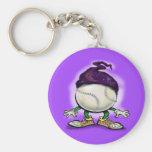 Mago del softball llaveros personalizados