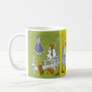 Mago del vintage de la onza, regalos del cuento de tazas de café