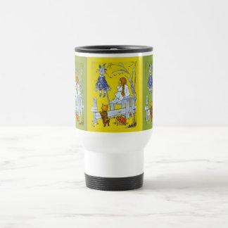 Mago del vintage de la onza, regalos del cuento de taza