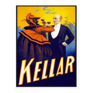 Mago Kellar, 1899 Postal