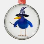 mago lindo del Bluebird 3d Adorno Para Reyes