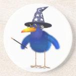 mago lindo del Bluebird 3d Posavasos Manualidades