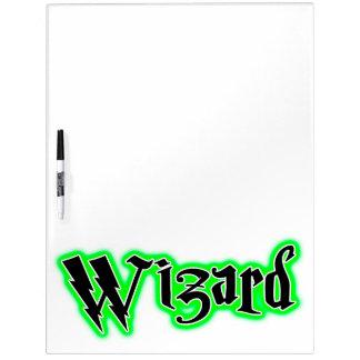 Mago - magia bruja humor de Wicca Tableros Blancos
